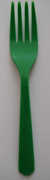 Fork - Heavy Weight - Green